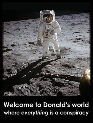 Photograph - Donald World by Richard Reeve