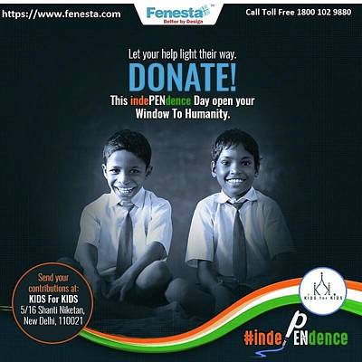 Stationery Mixed Media - Donate School Stationery In This Independence Day At Fenesta Office by Fenesta Building
