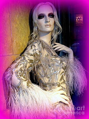 Photograph - Donatella In Couture by Ed Weidman