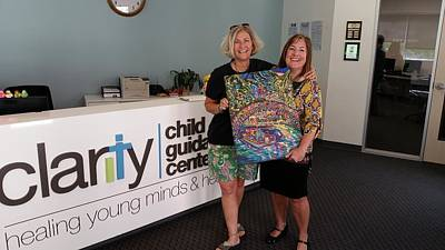 Painting - Donation For Clarity Child Guidance Center by Patti Schermerhorn