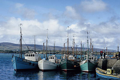 Photograph - Donegal Fishing Port by John Farley