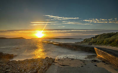 Photograph - Donegal Sunset 2 by Marty Garland
