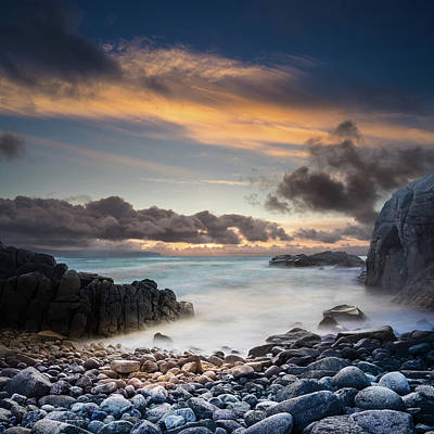 Photograph - Donegal Sunset 5 by Marty Garland