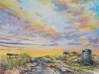 Painting - Donegal Sunset by Marty Garland