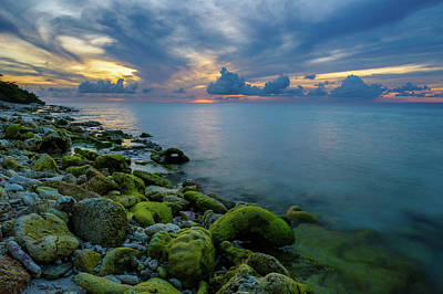 Photograph - Donkey Beach Sunset by Mark Robert Rogers