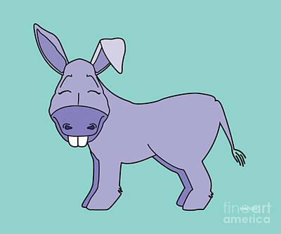 Koala Drawing - Donkey Created By Kidslolll by Kids Lolll