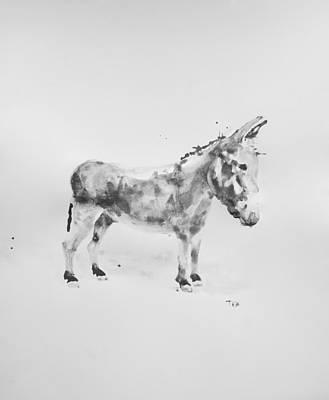 Donkey Mixed Media - Donkey by Trisha Bolander