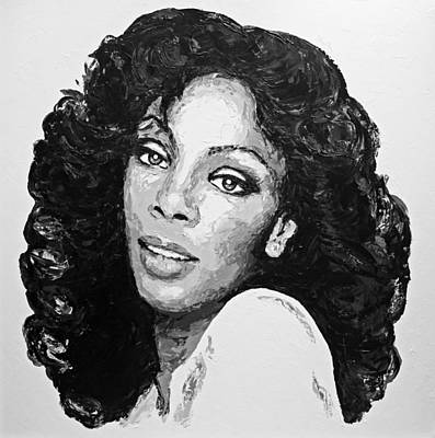 Painting - Donna Summer by Havi