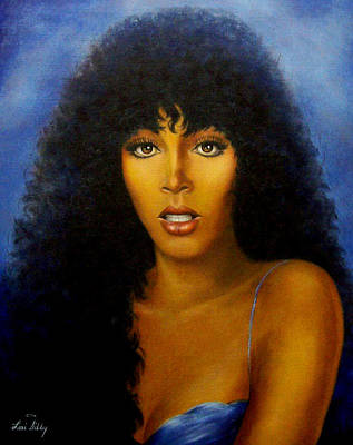 Donna Summers Art Print by Loxi Sibley