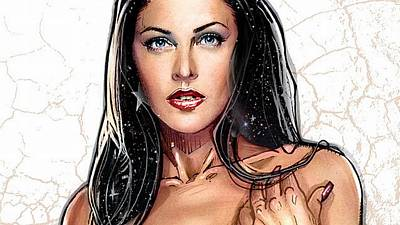 Fashion Digital Art - Donna Troy by Super Lovely