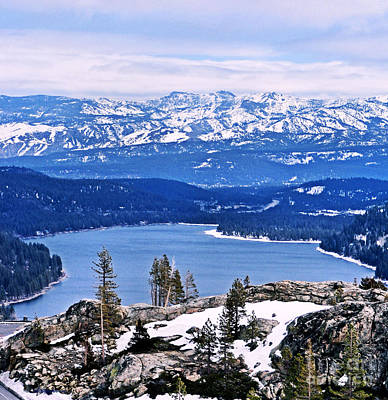 Photograph - Donner Lake by Nancy Chambers