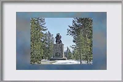 Donner Monument Art Print