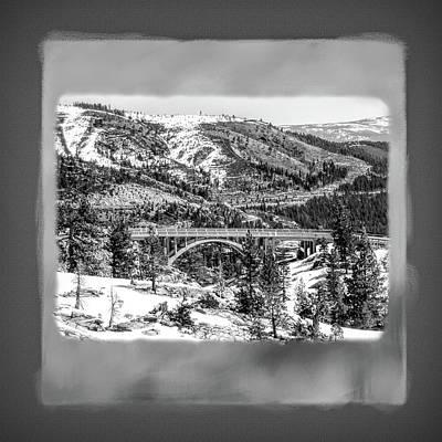 Photograph - Donner Summit Bridge by Donna Kennedy