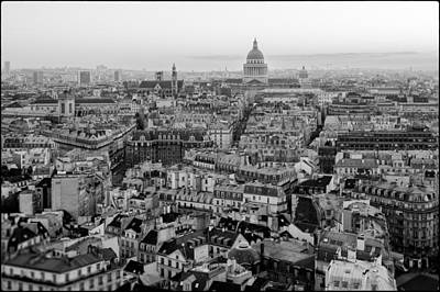 Paris Skyline Royalty-Free and Rights-Managed Images - Toits de Paris by Lazh Lo