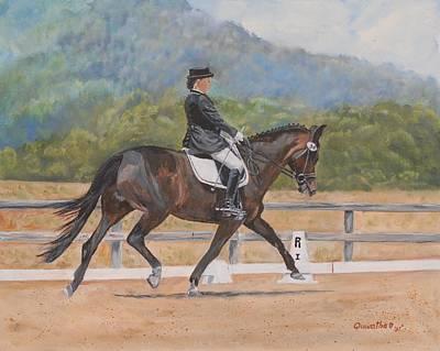 Painting - Donnerlittchen by Quwatha Valentine