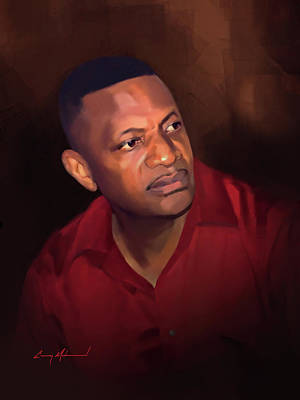 Painting - Donnie by Carey Muhammad