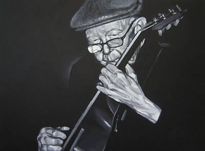 Donny Gilliland Art Print by Steve Hunter