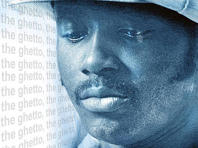 Donny Digital Art - Donny Hathaway by Mal Bray