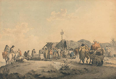 Drawing - Donnybrook Fair by Francis Wheatley