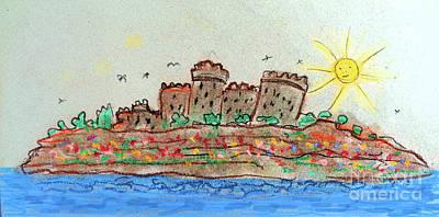 Drawing - Donpedrodegracialand Castle by Don Pedro De Gracia
