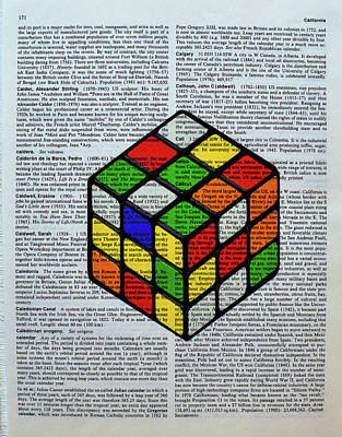 Don't Be A Square Art Print
