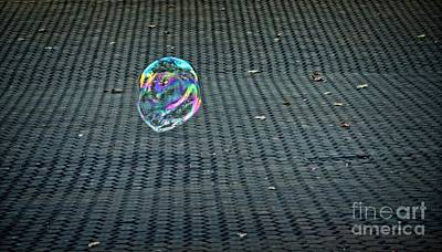 Photograph - Don't Burst My Bubble by Mary Machare