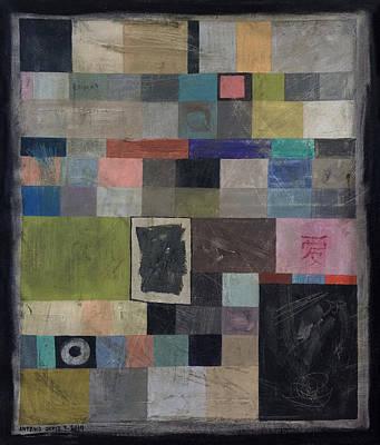 Baselitz Painting - Don't Copy My Style by Antonio Ortiz
