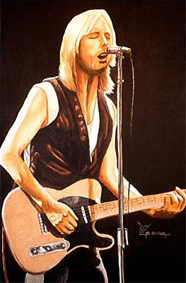 Tom Petty Painting - Don't Do Me Like That by Al  Molina