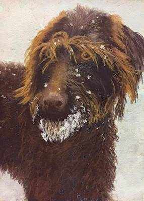 Painting - Don't Eat The Snow by Nancy Jolley