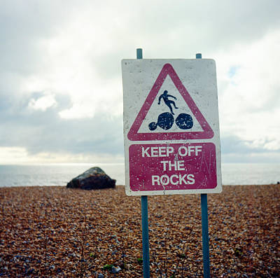 Photograph - Don't Fall Off The Rock by Will Gudgeon