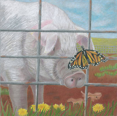 Painting - Don't Fence Me In by Arlene Crafton