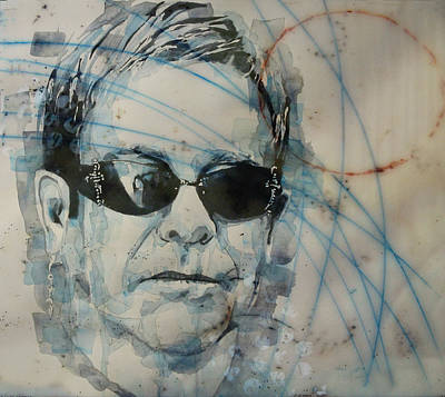 Elton John Painting - Don't Let The Sun Go Down On Me  by Paul Lovering