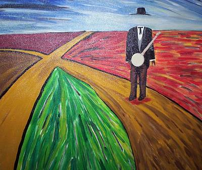 Painting - Don't Lose Your Soul At The Crossroads by Otis L Stanley