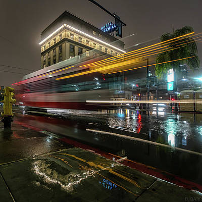 Bus Photograph - Don't Miss The Bus by Doug Barr