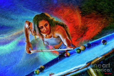 Photograph - Don't Need The Cue Ball   by Blake Richards