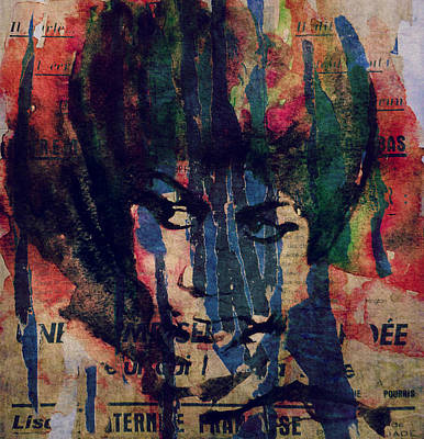 Jazz Legends Wall Art - Painting - Don't Play That Song  by Paul Lovering
