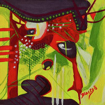 Mixed Media - Don't Rain On My Parade by Donna Blackhall