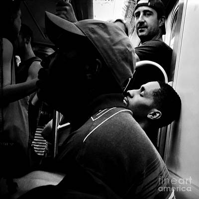 Photograph - Dont Sleep In The Subways Darling by Miriam Danar