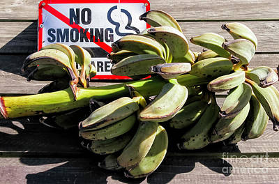 Photograph - Don't Smoke The Bananas by Kathleen K Parker