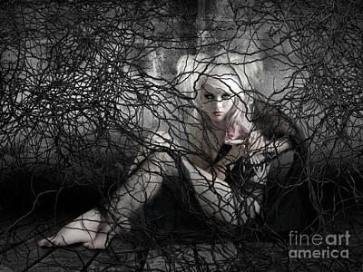 Hurt Digital Art - Don't Touch My Heart by Babette Van den Berg
