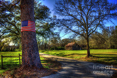 Photograph - Don't Tread On Me American Flag Art by Reid Callaway