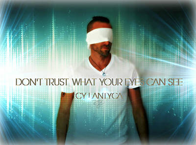 Photograph - Don't Trust by Cyryn Fyrcyd