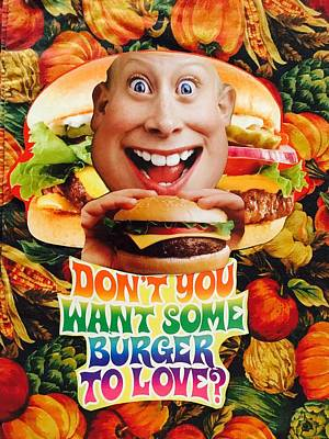 Mixed Media - Don't You Want Some Burger by Douglas Fromm