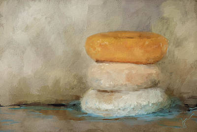 Donuts Painting - Donut Day by Jai Johnson