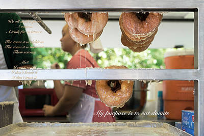 Photograph - Donut Purpose by Sharon Popek