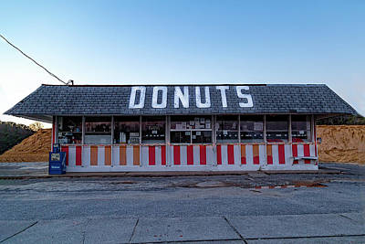 Photograph - Donut Shop No Longer 3, Niceville, Florida by Kay Brewer