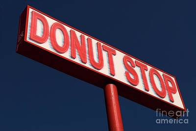Photograph - Donut Stop by Bob Pardue
