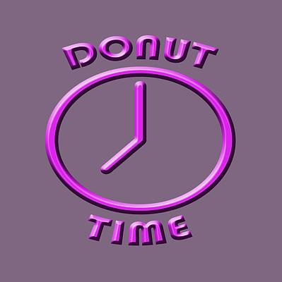 Photograph - Donut Time by Bill Owen