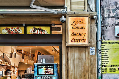 Photograph - Donuts And Desserts by Sharon Popek