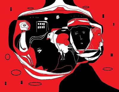 Digital Art - Doodle 15 by Jim Taylor